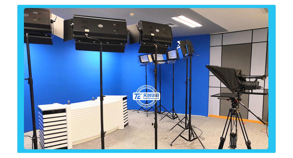 校园电视台搭建解决方案 数字学校电视台 影视实训室